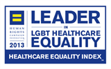 "CHA Named  A ""Leader in LGBT Healthcare Equality"""