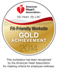CHA Named an American Heart Association Gold Level Fit-Friendly Worksite