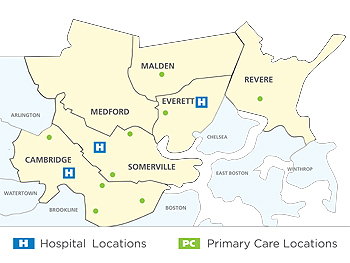 Cambridge Health Alliance locations