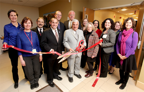 Community Leaders Celebrate Grand Re-Opening of CHA Malden Care Center