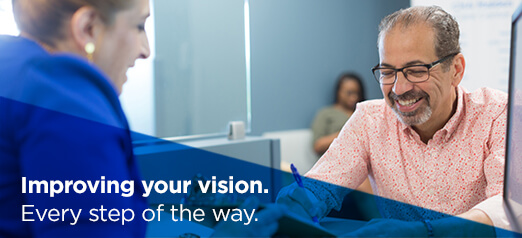 Improving your vision. Every step of the way.