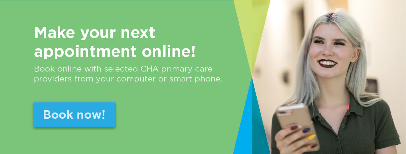 Make your next appointment online!