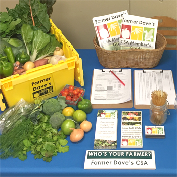 CHA and Farmer Dave's Offer Fresh Food for Local Communities